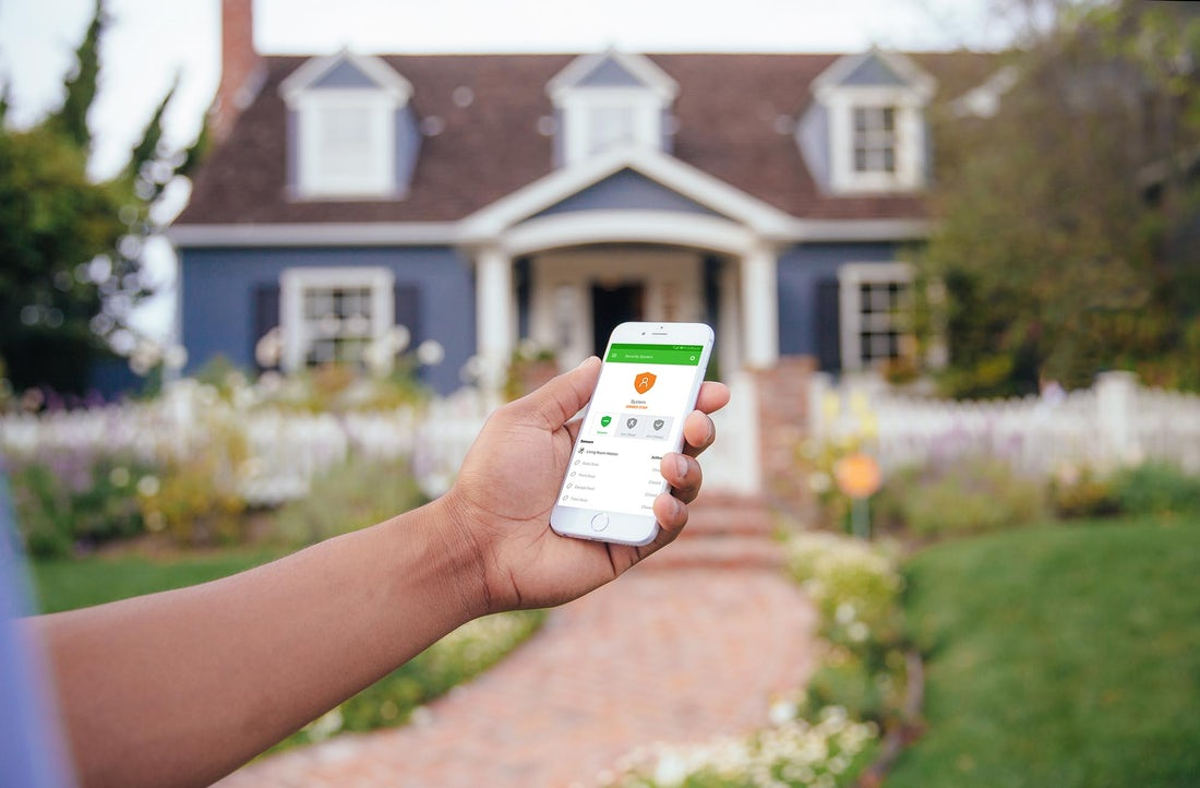 outside-home-with-gokonnect-smart-home-app-using-it-remotely