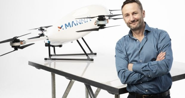 Drone delivery start-up Manna raises $25m ahead of major expansion