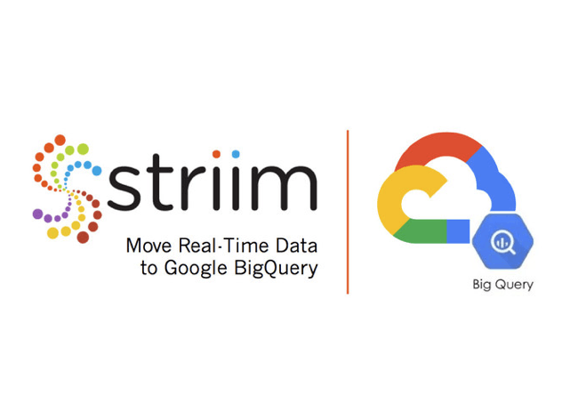 Striim Announces PaaS Offering for Real-Time Data Integration to Google BigQuery