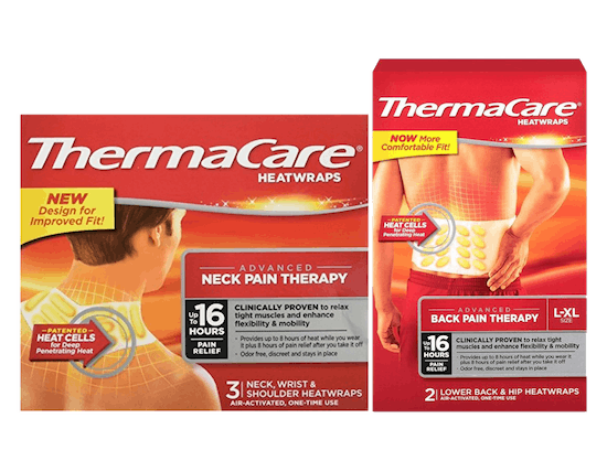 Thermacare Back & Neck Wraps save 33%