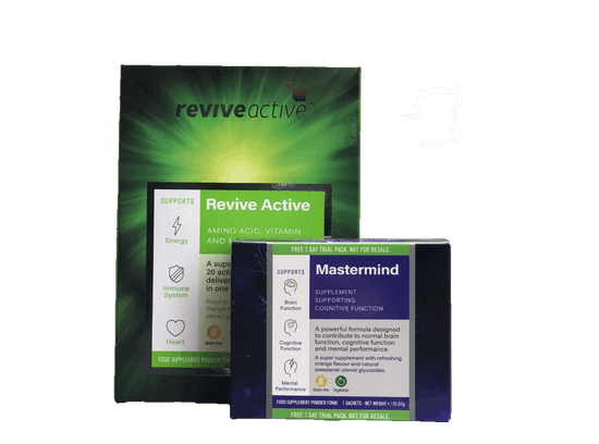 FREE 7 DAY REVIVE MASTERMIND WITH REVIVE ACTIVE (30'S)