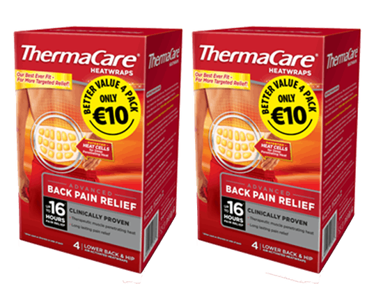 Thermacare Heatwraps ONLY €10