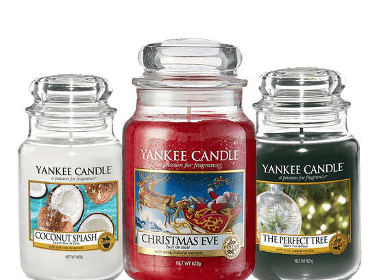 YANKEE CANDLE large jar Only €16.99