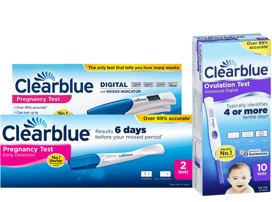 Clear Blue pregnancy & ovulation tests Save  20%