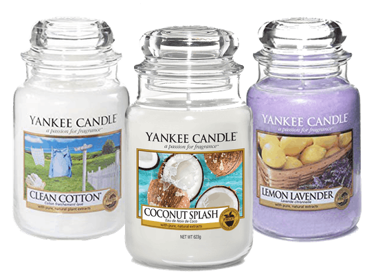 BUY ONE YANKEE CANDLE LARGE JAR AT REGULAR PRICE GET A 2nd FOR €5