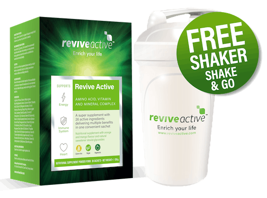 Free Shaker with Revive Active 30's
