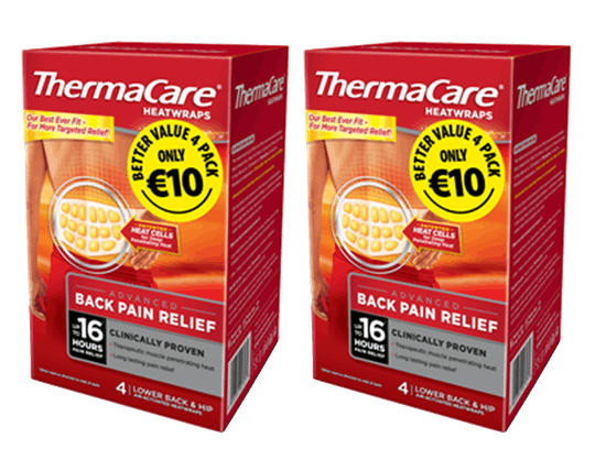Thermacare 4 pack ONLY €10.00
