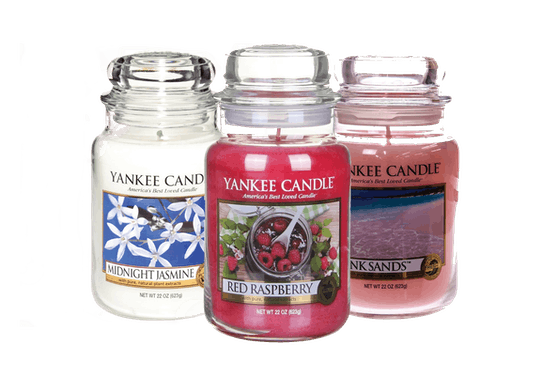 NOW €16.99 YANKEE CANDLE LARGE JARS