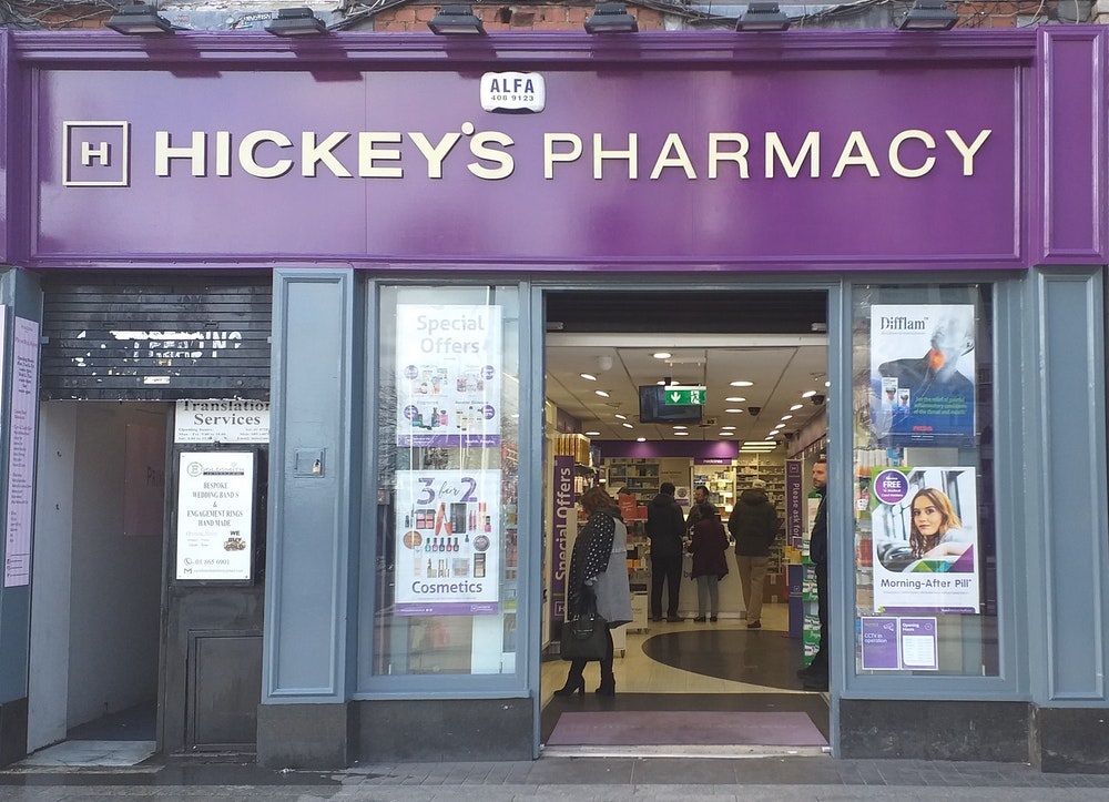 Support Pharmacist - O'Connell St