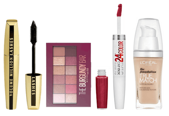 3 for 2 on selected cosmetics