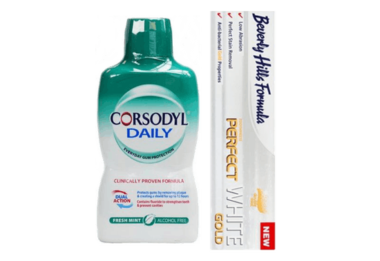 25% off Corsodyl & Beverly Hills Dental