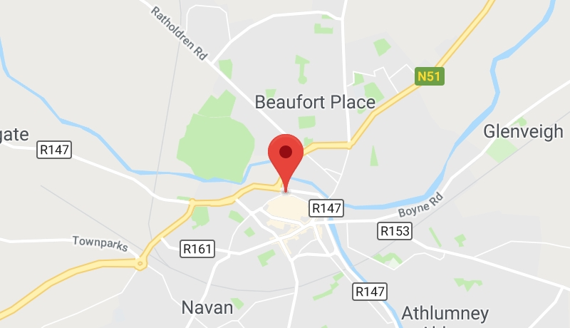Navan Medical Centre Map
