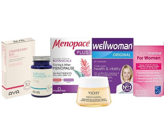 up to 25% off women's health
