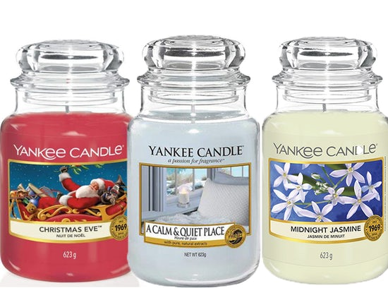 Yankee Candle Large Jars Only €18.99