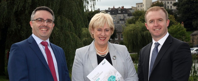 Minister Heather Humphreys launches the ifac 2018 Food and AgriBusiness Report