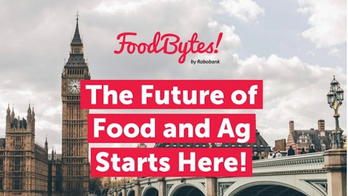 Lots To Digest From FoodBytes! London 2019