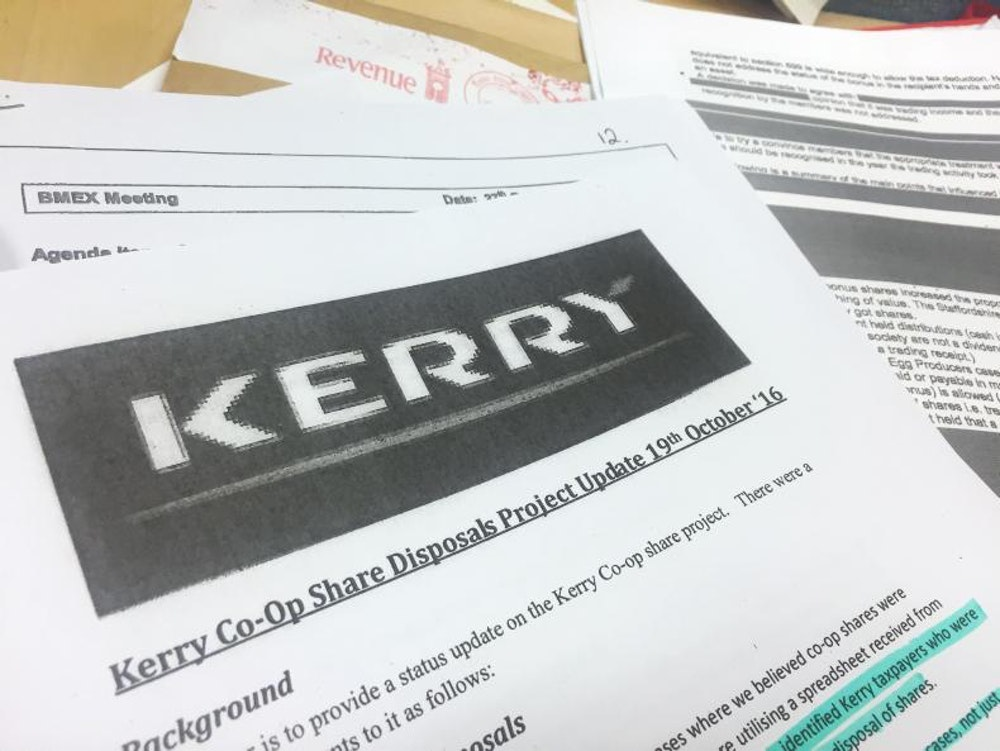 Tax Implications on Kerry Co-op Shares will Vary for Every Shareholder