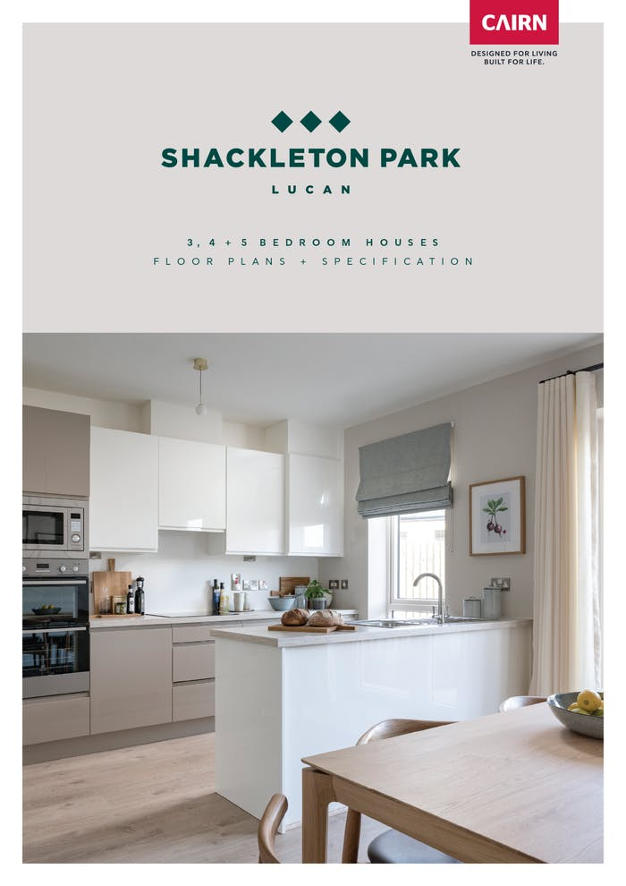 Shackleton Park Houses Floorplans