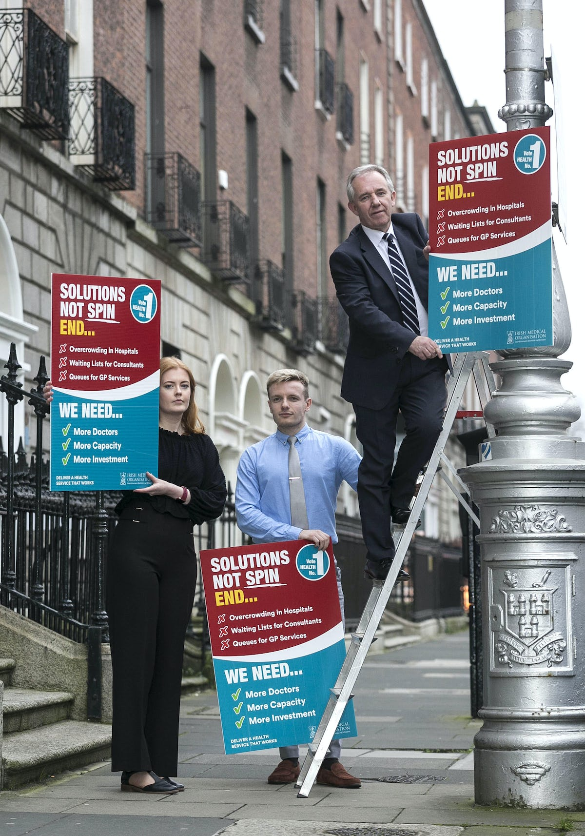 IMO launches election campaign poster