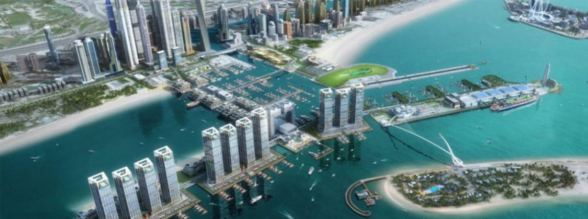 Dubai Harbour Masterplan