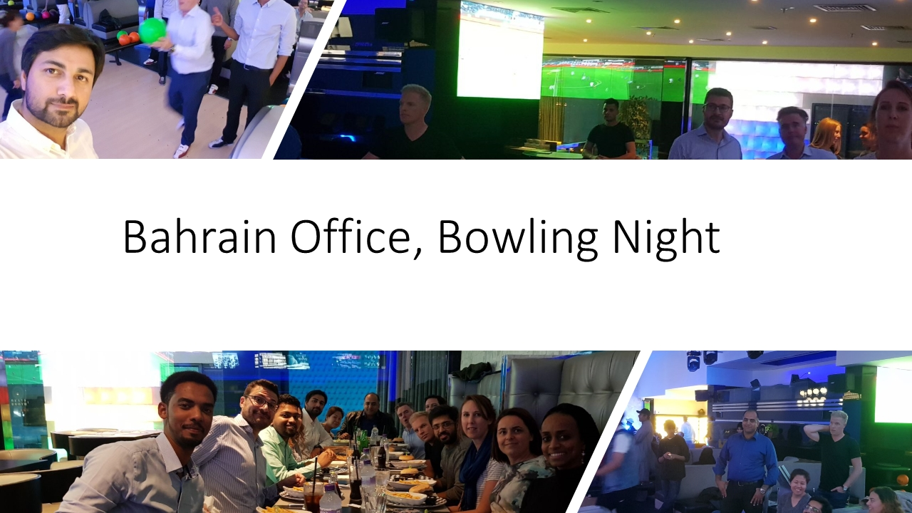 Bowling Night in Bahrain