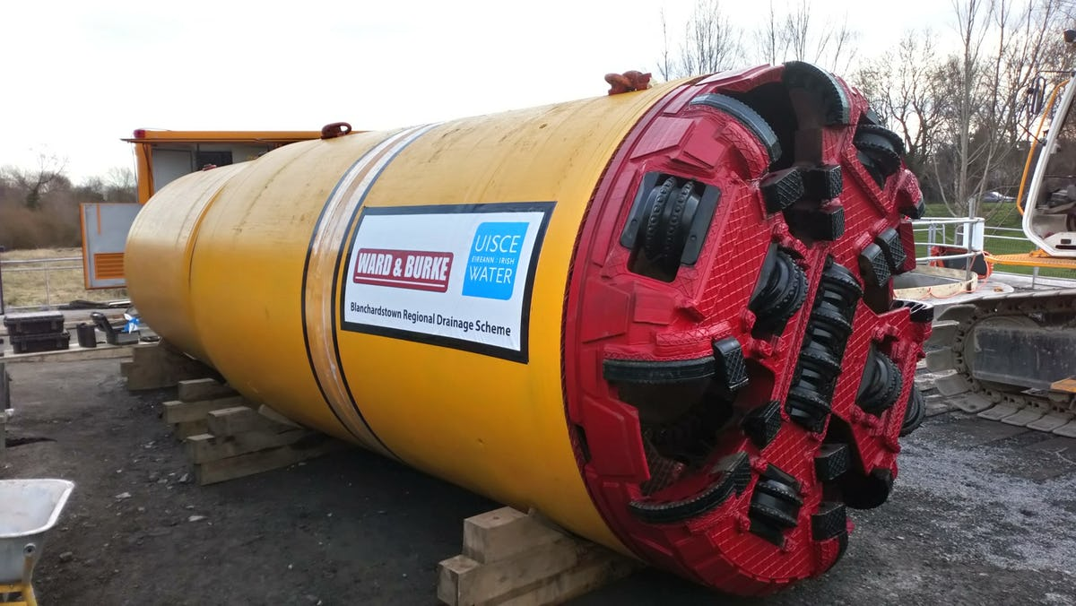 Tunnelling Ahead at the Blanchardstown Regional Drainage Scheme Project