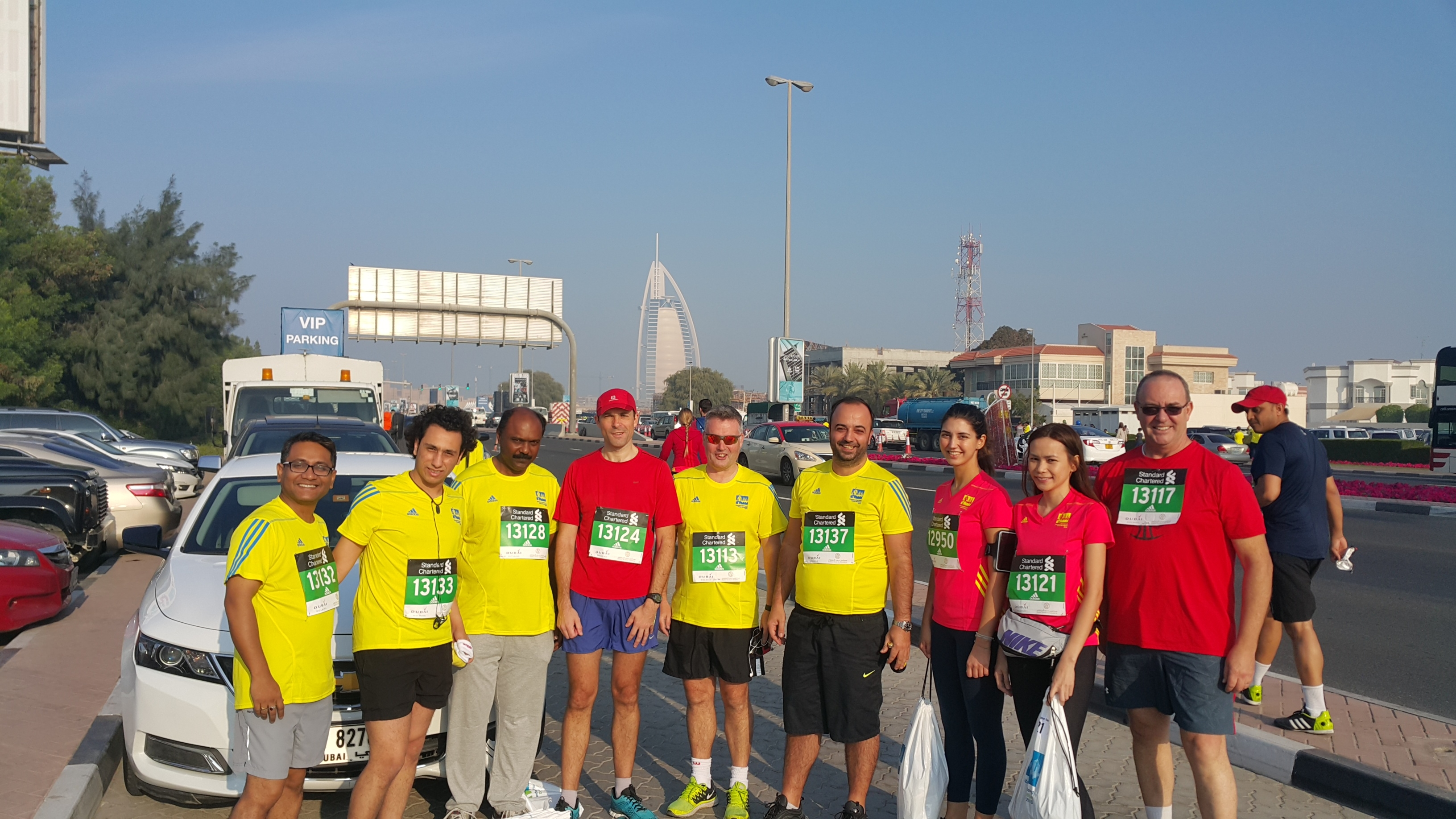 Taking on a 10k in Dubai