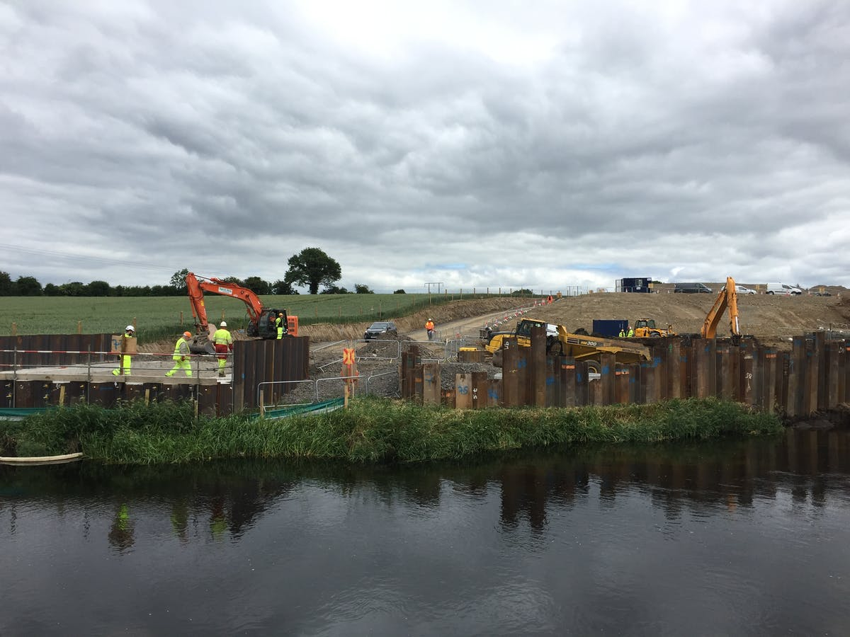 M7 Widening and Sallins Bypass