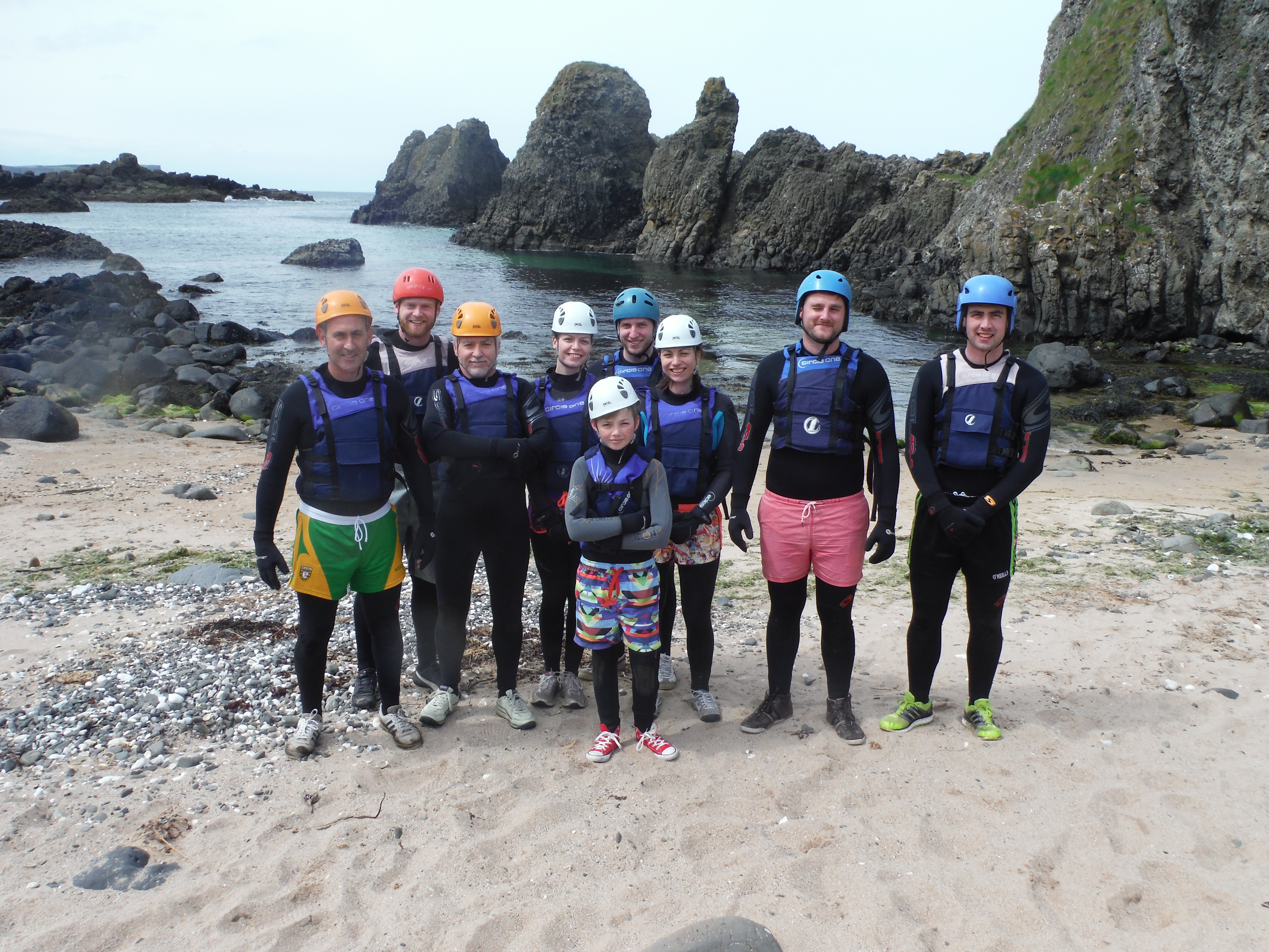 Coasteering Adventure in Belfast