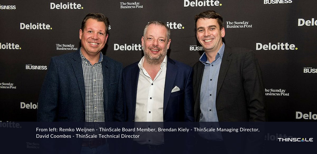 ThinScale ranked 4th in the Deloitte Technology Fast 50 Awards