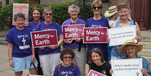 Sisters of Mercy of the Americas sign onto Catholic Climate Declaration