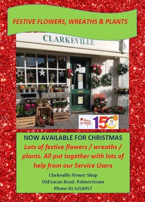 Clarkeville Festive Flowers, Wreaths & Plants
