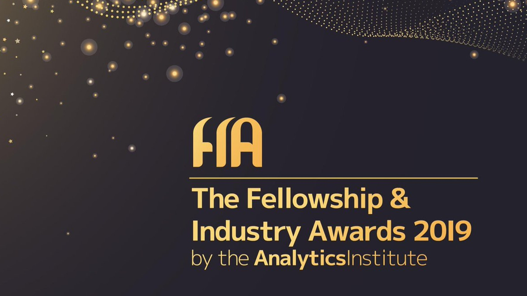 Analytics Institute Fellowship & Industry Awards 2019