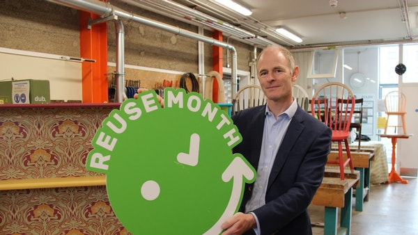 Minister Ossian Smyth TD Launches Reuse Month 2021