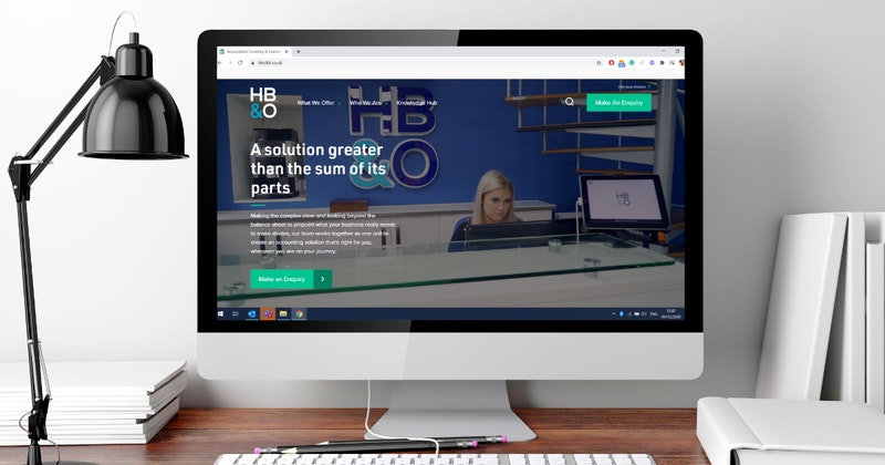 HB&O has launched a new website showcasing a new logo and refreshed brand