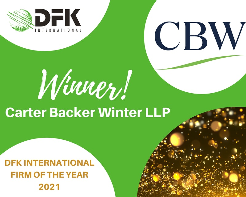 CBW IS AWARDED FIRM OF THE YEAR