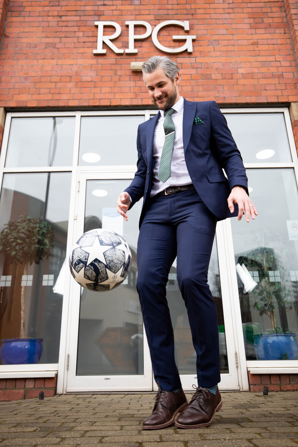 Former professional footballer, Jamie Reed, is kicking off the next stage of his financial planning career with RPG Chartered Financial Planners