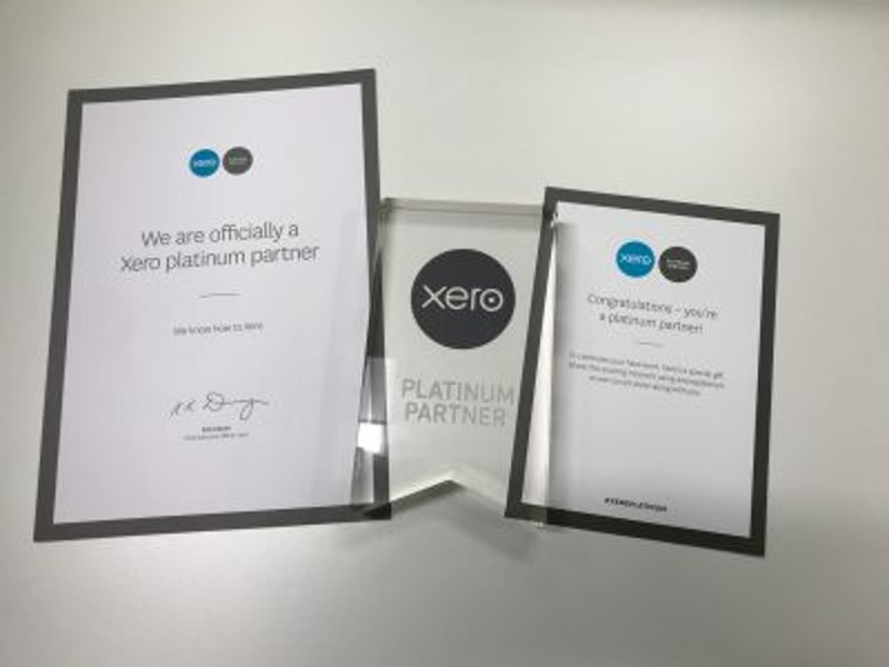 CBW is delighted to announce that we have achieved Platinum status with Xero