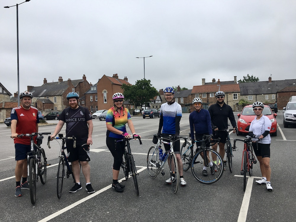 Brown Butler's accountants climb in the saddle to raise money for Martin House Hospice