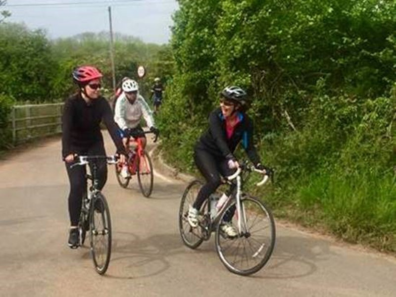 Shaw Gibbs Insolvency Practitioner Karyn Jones braves the Langdon Velo Challenge alongside her father and daughter