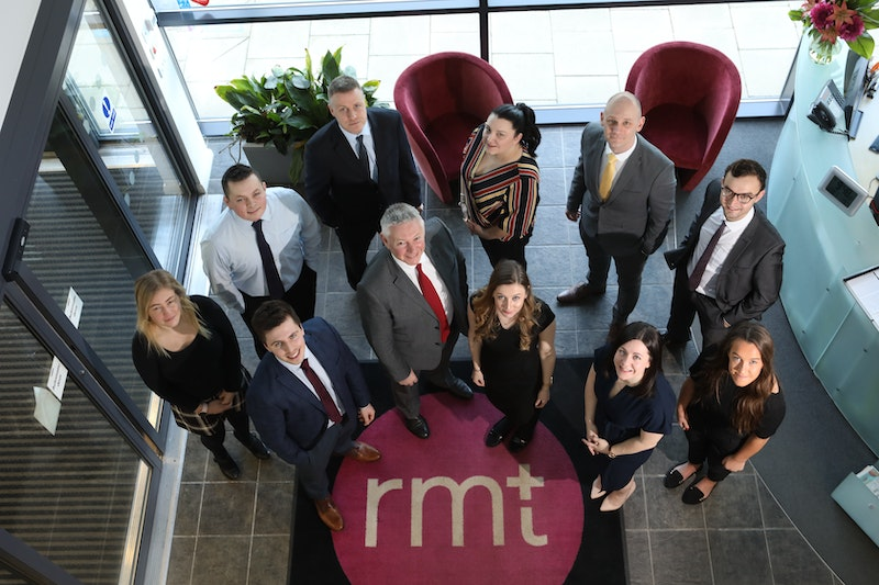 RMT Accountants invests in expansion with nine new recruits