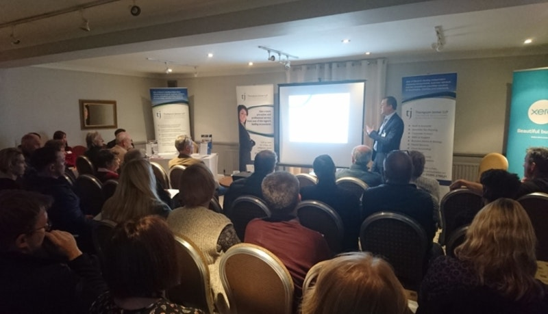 Exeter businesses make Making Tax Digital for VAT seminar a success