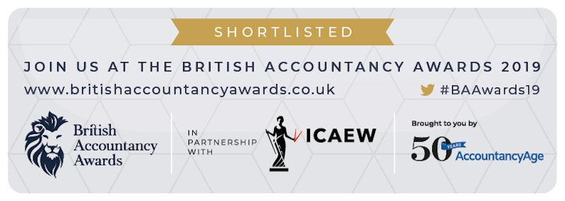 Wilson Wright shortlisted for prestigious British Accountancy Award