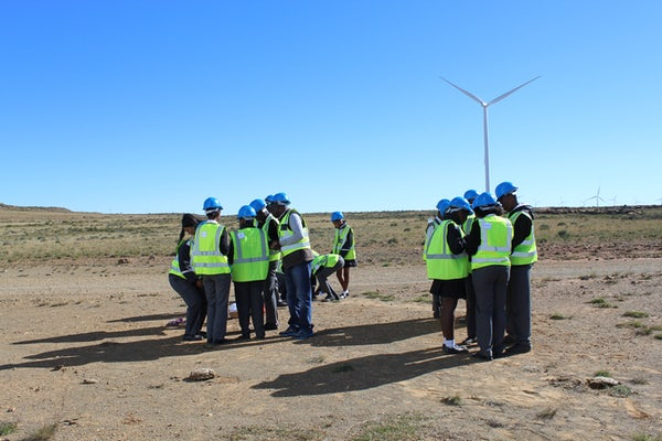 Noupoort wind farm celebrates Global Wind Day, South Africa