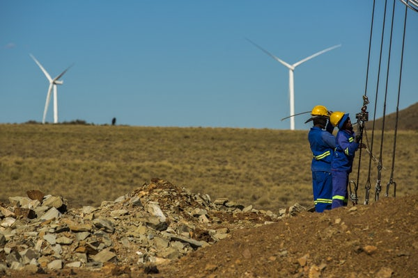 Mainstream's pan-African JV Lekela Power signs MoU for US$350m wind power station in Egypt