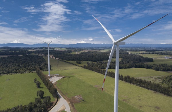 Environmental approval for Puelche Sur Wind Farm