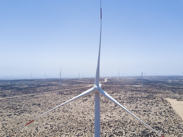 Sarco Wind Farm begins feeding energy into the Grid