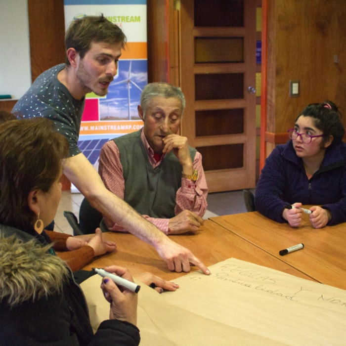 Community groups pull together with wind project funded training