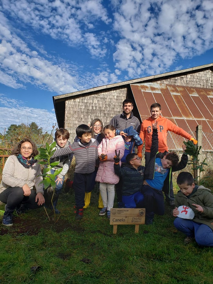 School grounds get makeover for Mapuche new year