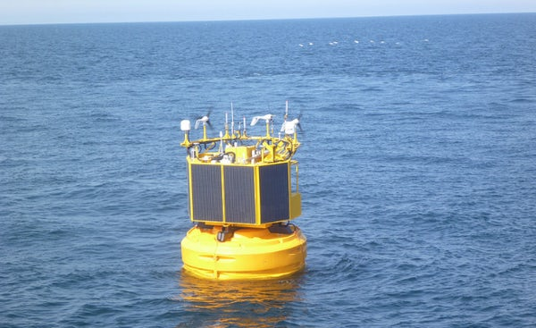 Wind measurement campaign completed at Neart na Gaoithe offshore wind farm site using innovative floating LiDAR